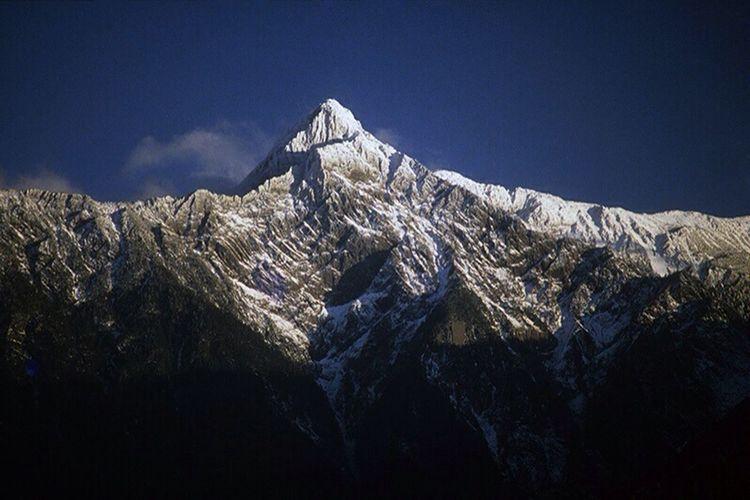 YuShan - Jade Mountain , The Highest Mountain in Taiwan