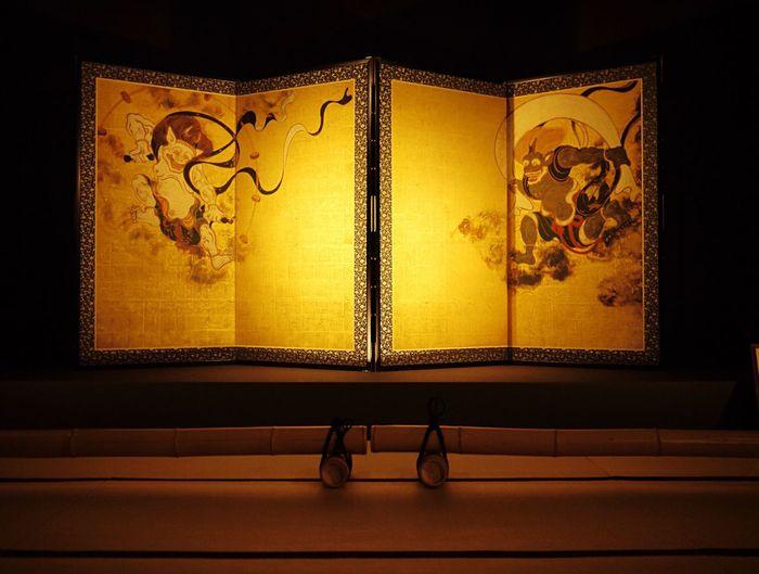 Japan Japan Photography Kyoto,japan Temple Kyoto Trip Lumix 2015  Simple Photography 建仁寺 京都 風神雷神図屏風