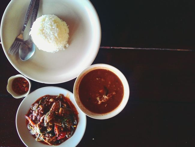 Hot And Spicy Thai Food Yummy Food Thailand Thai Red Curry Stream Rice