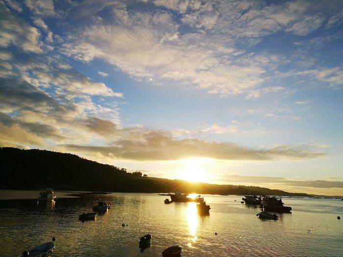 Sunset Aldan sea First Eyeem Photo Rias Baixas