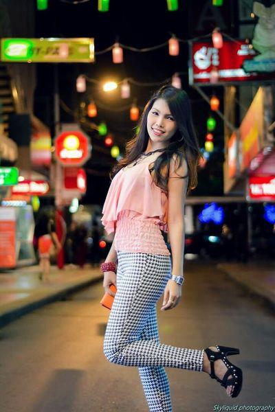 Girlfriend Model Beautiful Pretty Girl Bangkok Siam Square Thailand Portrait