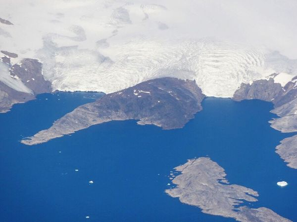 Global warming is melting the Greenland Ice Sheet, fast