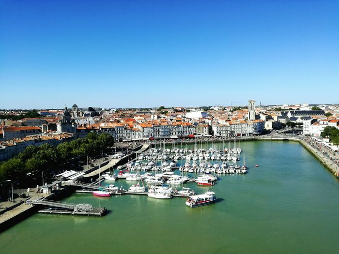La Rochelle City Sky Outdoors Tranquility Sea Beauty