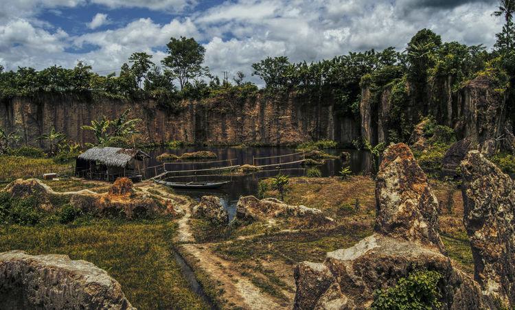 Godzilla Tangerang Travel Boat Cliff Cloud - Sky Destination Koja Landscape Nature Outdoors Photography Tebing Tourism
