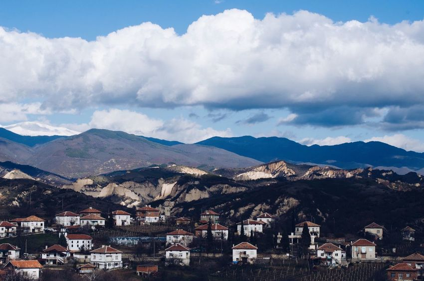 Bulgarian village Escaping Panorama View Balkans Europe Travelling Country Bulgaria Travel Village Cloud - Sky No People Residential Building Town Day Nature Outdoors Beauty In Nature Scenics Cityscape Community City