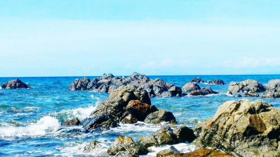 Tauting Waves First Eyeem Photo MyPhotography Lifes A Beach Stones Waves, Ocean, Nature Waves Crashing