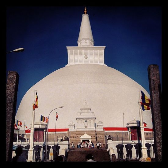 Ruwanwelisaya Largest Stupa in the Sri lanka. travel best photo awesome nature Lowamahapaya Anuradhapura