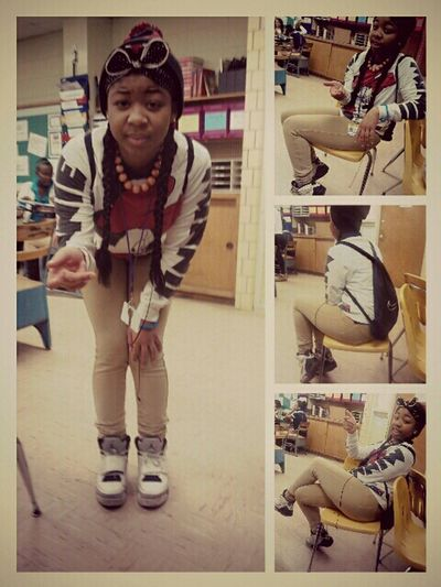 Me Today In Class ^_^