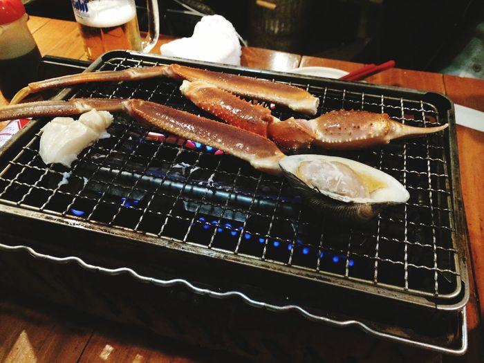 かにかにかにー! かに地獄 Shimbashi , Tokyo,Japan