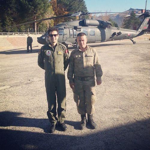 Yine mesaiye basladik.. Flight Ambulance Helicopter Tunceli elazig ucus work kartal emergency
