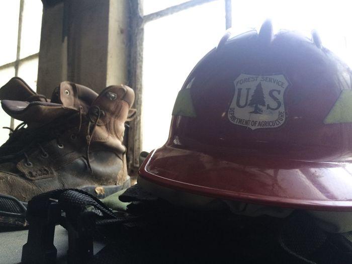 Firefighter Wildlandfirefighter Forest Service Blm Contrast Grunge Rustic
