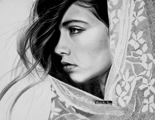 Drawing Art beauty