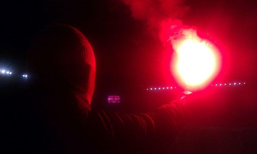 SK Slavia Praha supporters! Ultras Pyrotechnics Supporters Football