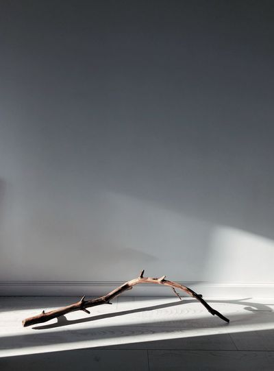 Close-up of stick on table at home
