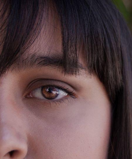 Ojos de miel