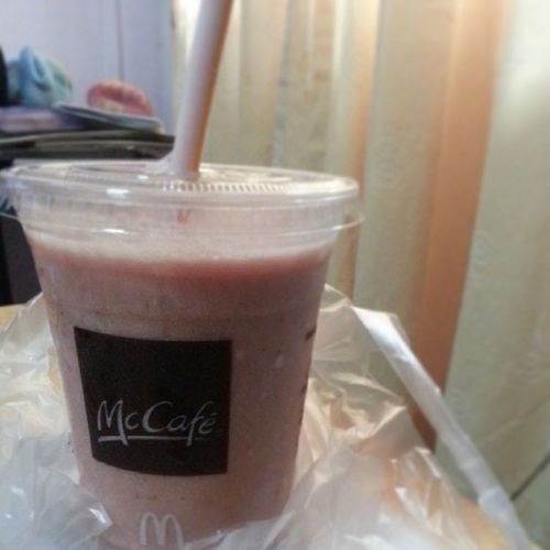 Drink to conpany me on a hot saturday afternoon Mcd YumYum Drink