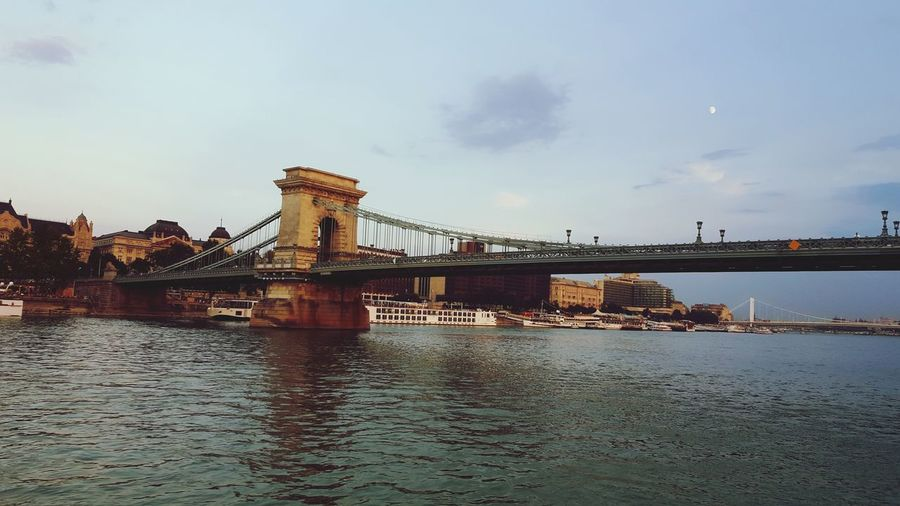 EyeEmNewHere EyeEm Selects City Water Cityscape Bridge - Man Made Structure Urban Skyline Sky River