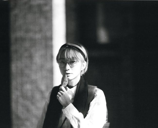 Portrait Of A Woman Monochrome Film Portrait PENTAX67