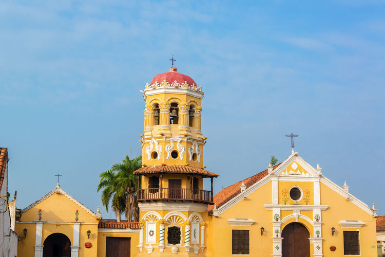 Santa Barbara Church At Santa Cruz De Mompox