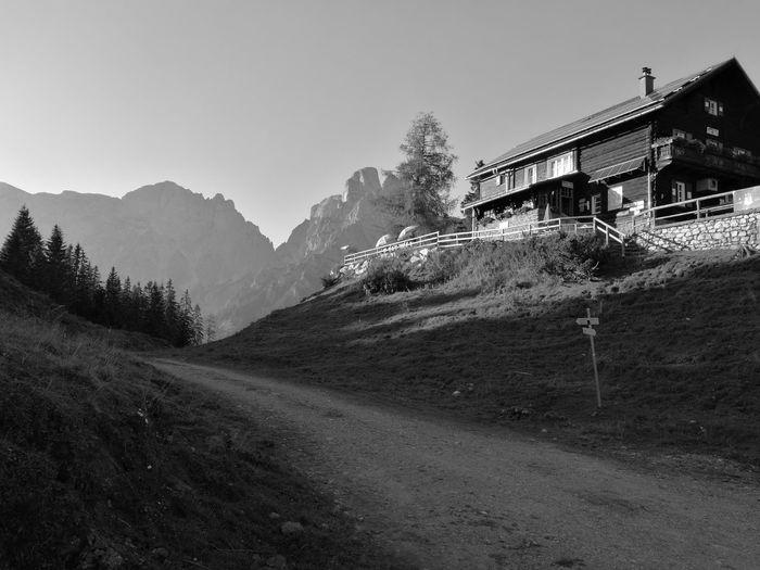 Mödlinger Hütte Xseis Gesäuse Nationalpark gesäuse Mountain steiermark Styria