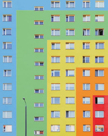 『🌈』︱chasing rainbows Architecture_collection Architectural Column Samsungphotography EyeEmNewHere First Eyeem Photo EyeEm Best Shots EyeEm Selects Minimalist Architecture Minimal Exterior The Week on EyeEm Color Colorful Colors Rainbow City Apartment Multi Colored Community Cityscape Photograph Housing Development Low Yellow Social Issues Office Building Urban Skyline Residential District Residential Structure Human Settlement The Architect - 2018 EyeEm Awards