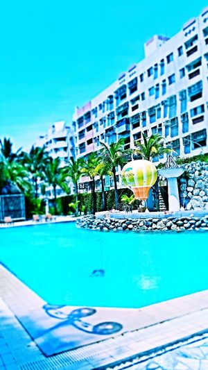 Taitung Naruwan Hotel Swimming Pool Hot Air Balloon Relaxing Time
