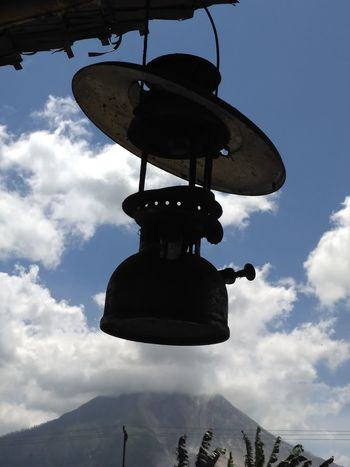 Cloud - Sky Day Hanging Low Angle View Mountain Nature No People Outdoors Sky Street Light