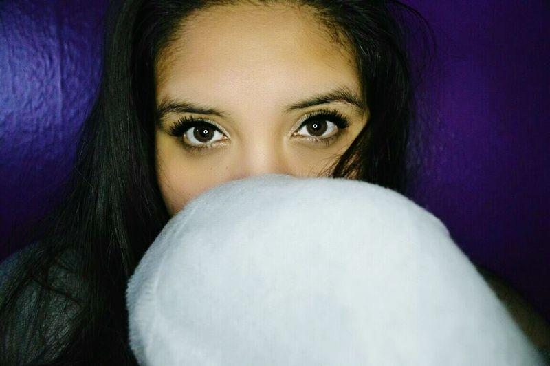 Self Portrait Girl Purple Eyes First Eyeem Photo