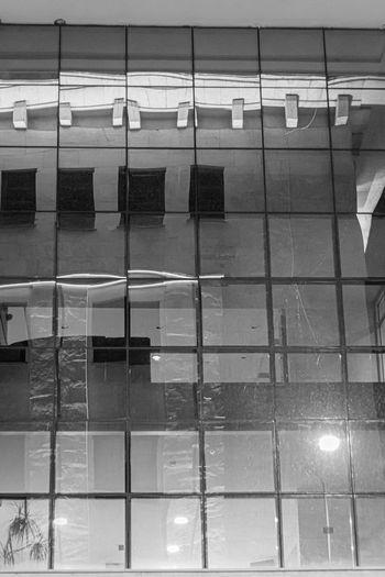 Full frame shot of illuminated building