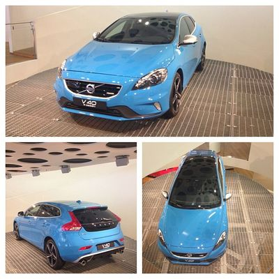 V40 R-Design i Volvo Cars Showroom! Volvocars V40 R -design VolvoCarsShowroom