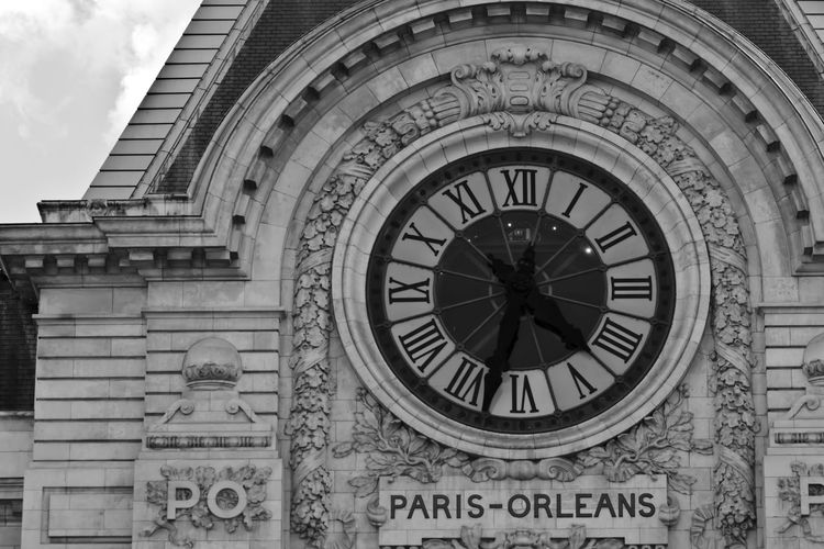 Architecture Art Built Structure Capital Cities  Clock Day Façade Low Angle View Museum No People Orsay Outdoors Paris Paris ❤ Sky Station Time Tourism Travel Destinations