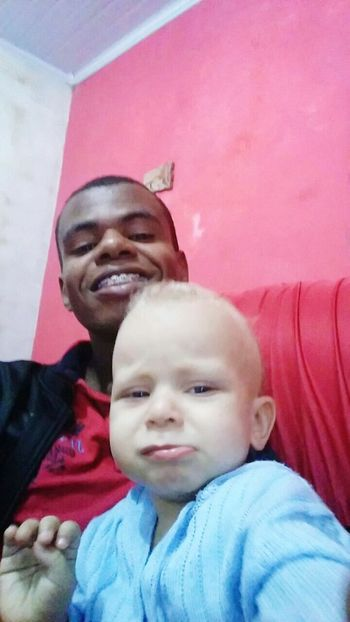 Self com meu tio... Cara de mau.. Kkk
