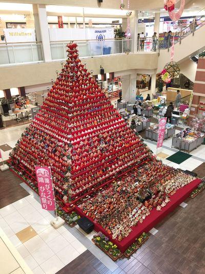もう直ぐ雛祭り🎎🎎🎎🎎 Tadaa Community Unique Japan Exhibition Dolls Pyramid Hinamatsuri 雛祭り Konosu Japanese Culture Miniatures Diorama Toys