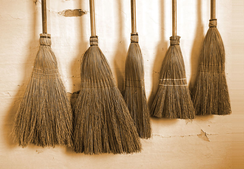 Shaker design brooms at the Shaker Village in Hanover, Massachusetts American History Antique Brooms  Shakers American Heritage Broom Broomstick Cleaning Cleaning Equipment Close-up Day Historical Place Indoors  No People Sepia Photography Shaker Village Sweeping