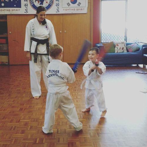 The Taekwondo kids First Eyeem Photo
