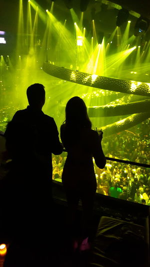 Vegas lights. Drinks Bottle Service Dj Set Caesars Palace People And Places. People And Places Illuminated