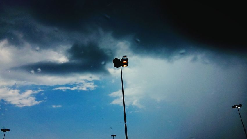 Street Light before Strom