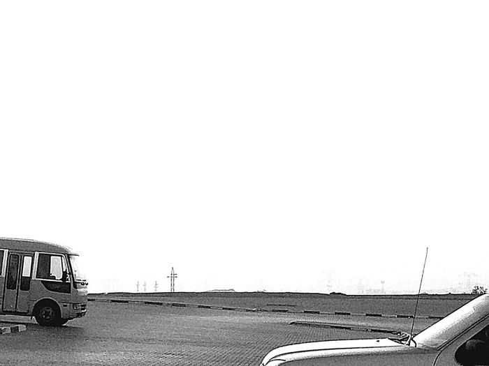 #plain Desert Imagine Clearysky #old Bus IPhoneography Neutral White