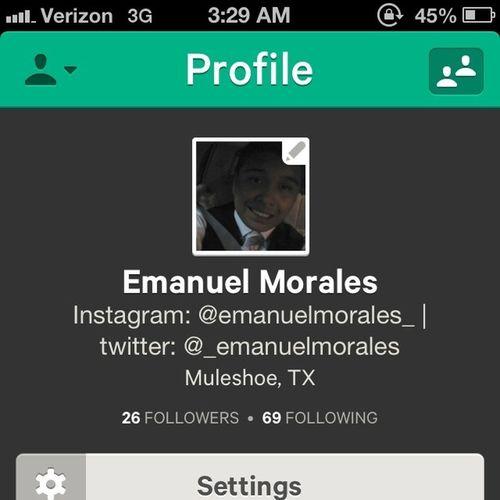 Follow me on vine