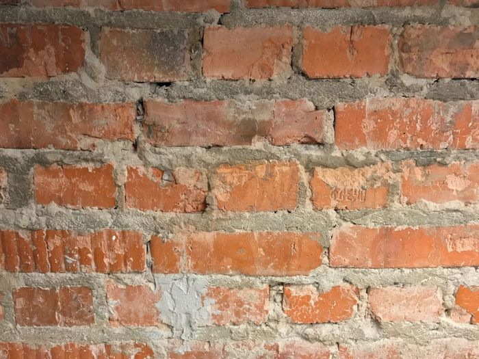 Wall Textures Wall - Building Feature Abstract Photography Abstract Backgrounds Brick Wall Wall - Building Feature Brick Backgrounds Built Structure Red Architecture Textured  Dirty Building Exterior No People Pattern Full Frame Close-up