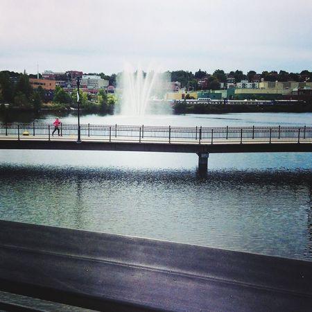 Une belle vue du Lac des Nations à Sherbrooke! Sherbrooke