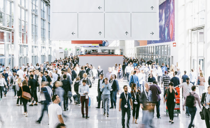 Crowd of people walking on a trade show in london Women Woman Walkway Walking Visitors Unorganized Travel Transportation Tradeshow Trade Fair Trade Suit Show Shopping Seminar Rush Hour Rush Real People People Outdoors Orientation Office Moving Motion Men Meeting London Lobby Large Group Of People Hostess Hall Group Of People Group Glass Germany Future Frankfurt Fair Expo Exit Exhibition Debate Day Crowd Corridor Copy Space Convention Congress Conference Concept Cologne City Life City Business Built Structure Building Exterior Blurred Motion Blurred Blur Banner Arrow Architecture Airport Advertising Space Adult
