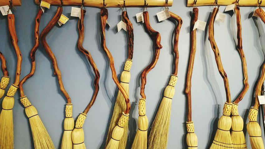 Beautiful Brooms  March 2016 Handcrafted Artisan