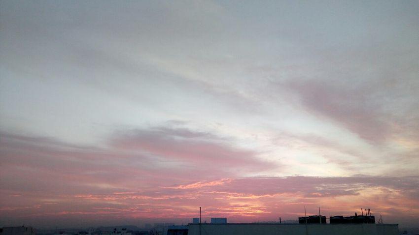 Sunrise Morning Sky Only Moody Sky
