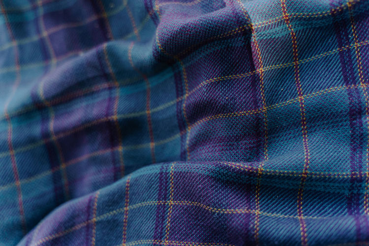 purple-blue blanket Textile Backgrounds No People Close-up Full Frame Pattern Clothing Textured  Indoors  Blue Multi Colored Wool Material Thread Industry Focus On Foreground Selective Focus Purple Blanket Blankets