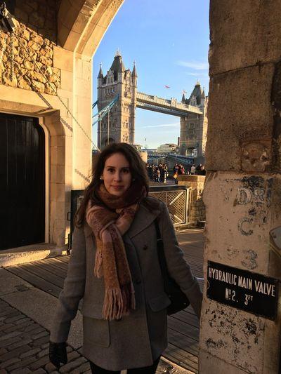 Tower Bridge  London Sunny Cold Winter Architecture Arch