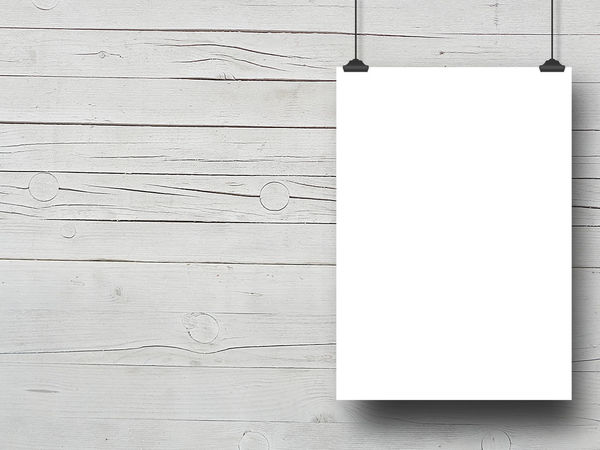 Blank frame hanged by clips against white wooden background Backgrounds Blank Clips Close-up Copy Space Day Empty Frame No People Outdoors Paper Pattern Plank Sketch Pad Textured  White Wood - Material Wood Grain