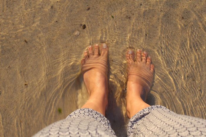 Feet In Water Feet In The Sand Feet Refreshment Refresh Beach Life Beach Day Beach Feetselfie Feet On The Ground Sand & Sea Wave Chilling Cooling