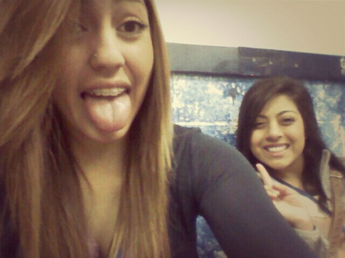 Chilling in the locker room with maahhh boooothaang lol