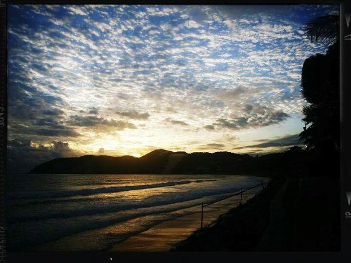 Praia De Ponta Negra Sunrise Pro Dia Nascer Feliz! Nascer Do Sol EyeEm Nature Lover Nature And City Nature Lovers Pothography Love Beaches Amor A Natureza Brasil ???